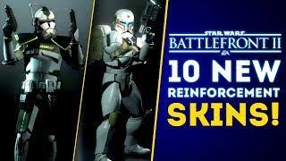 10 New Reinforcement Skins Coming THIS Week! Rise of Skywalker DLC Update! - Star Wars Battlefront 2