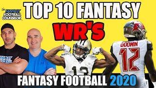 Top 10 Fantasy Football Wide Receivers 2020