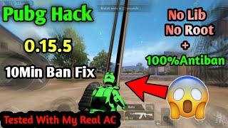 Pubg Mobile Hack 0.15.5 Version With 10Min Ban Fix Full Antiban Hack+Giveaway By technical Paytm