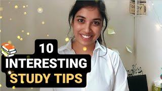 10 INTERESTING STUDY TIPS FOR ALL STUDENTS | AIIMS DELHI VLOG