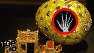 Top 10 Bizarre Things Found Inside Faberge Eggs