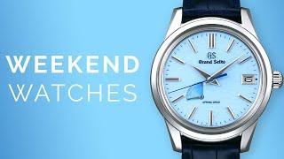 Rolex Daytona & Grand Seiko Skyflake: Omega Seamaster Vintage + Luxury Watches To Buy