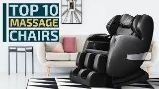 Top 10: Best Massage Chairs for 2020 / Full Body Zero Gravity Shiatsu Recliners, Smart Massage Chair