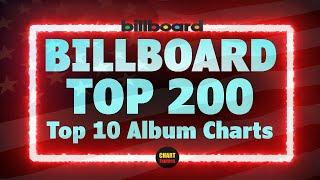 Billboard Top 200 Albums   Top 10   August 07, 2021   ChartExpress