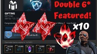 Double 6* Featured! NO WAY! x10 5* Crystals! - Marvel Contest of Champions