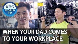 When your dad comes to work to see you [Boss in the Mirror/ENG/2020.03.08]