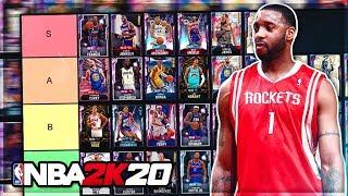 RANKING THE BEST POINT GUARDS IN NBA 2K20 MyTEAM!! (Tier List)