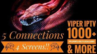 Top IPTV Service Review 2020 1000+Channels Quad Screen, PPV, Sports Pkgs