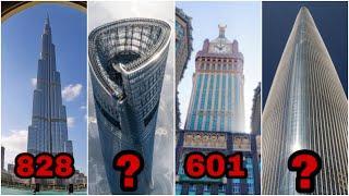 दुनिया के 10 सबसे ऊंची बिल्डिंग|World Top 10 Tallest Building In Tha World|World Top 10 boss