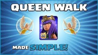 How To Queen Walk/Charge Made SIMPLE! – Best TH12 Attack Strategy – Clash of Clans