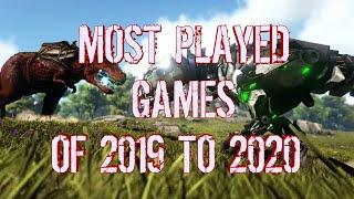 BEST GAMES OF 2019/2020 most played games