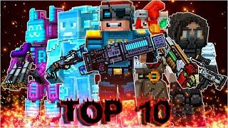 Pixel Gun 3D - Top 10 Most Popular Primary Weapons by Subscribers (Month 2)