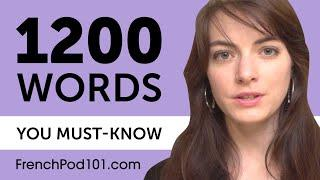1200 Words Every French Beginner Must Know