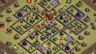 Top 5 best town hall level 10 bases | Clash of Clans (with links)
