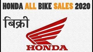 Honda All Bike Sales 2019-20 | Top Selling Report {Explain In Hindi}