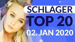SCHLAGER CHARTS 2020 - Die TOP 20 vom 02. Januar