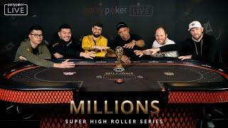 MILLIONS $50K SHORT DECK Final Table #7 LIVE STREAM | MILLIONS Super High Roller Series Sochi 2020
