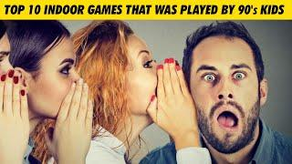 Top 10 Indoor games that was played by 90's Kids | Simbly Chumma