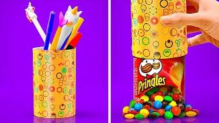 COOLEST WAYS TO SNEAK FOOD INTO CLASS || Back To School Hacks And Tricks