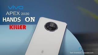 VIVO Apex 2020 Hands on vivo official  | Killer smartphone