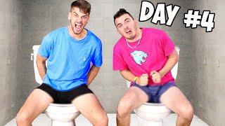 Last To Leave Toilet Wins $1,000,000 - Challenge (Part 3)
