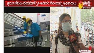 Hyderabad Metro Rail staff taking precautionary measures for Coronavirus