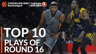 Turkish Airlines EuroLeague Regular Season Round 16 Top 10 Plays