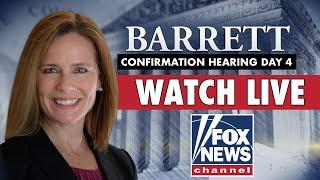 LIVE: Amy Coney Barrett's Supreme Court confirmation hearings   Day 4