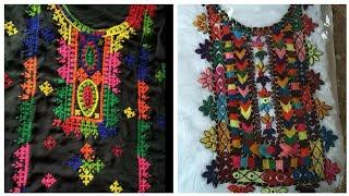 Top 50 mirror work with traditional Sindhi hand embroidery designs