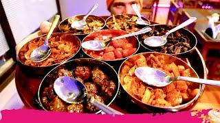 Trying INDIAN NEPALI FOOD in Bhutan + Fungus Tea Tasting | Thimphu, Bhutan