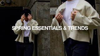 TOP 10 SPRING FASHION ESSENTIALS & TRENDS
