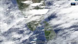 Indian Weather Sattelite Image 01-08-2020 9.30 PM