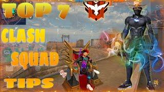 Free Fire Top 7 Clash Squad Tricks and Tips | Best Hidden place