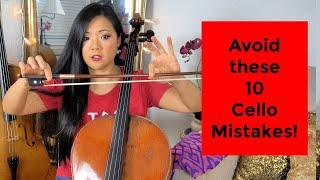 10 MOST COMMON Cello Mistakes for Cellists (Beginner Friendly)