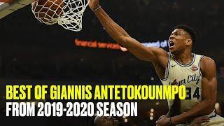 Giannis Antetokounmpo's Top Plays of the 2019-20 Regular Season