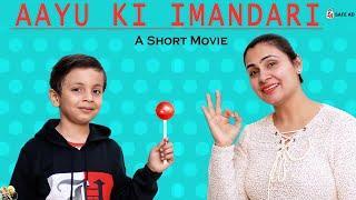 AAYU KI IMANDARI | #Funny Moral Story | Lollipop | Types of Kids in Market | Aayu and Pihu Show