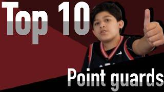Top 10 point guards of all time!