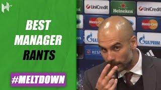 'Look At Me When I Talk To You!'   Manager Press Conference Rants