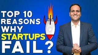 TOP 10 Reasons Why Startups Fail. | HINDI | BSR