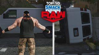 WWE 2K20 - Top 10 Smackdown vs Raw Moments | June 1/5, 2020 | ft. WWE 2K19 & GTA 5