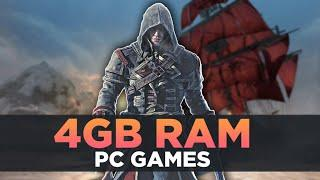 Top 10 Games That Work Perfectly On 4GB Ram | Games For 4GB Ram PC/LAPTOP 2020