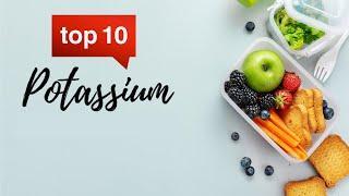 TOP 10 Potassium rich foods (NOT bananas!)