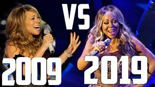Mariah Carey : Start Of The Decade Vs End Of The Decade (2009 VS 2019)!!