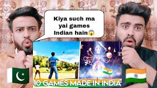 Top 10 Made In India Games You will Be Shocked After Seeing This By|Pakistani Bros Reactions|