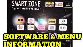 SMART ZONE SET TOP BOX SOFTWARE & MENU INFORMATION software link