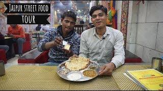 Jaipur Street Food - Amritsari Kulcha , Paneer Tikka ,Chat | Jaipur Food Tour | Indian Food Special