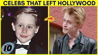 Top 10 Celebrities That Left Hollywood To Live Normal Lives - Part 2