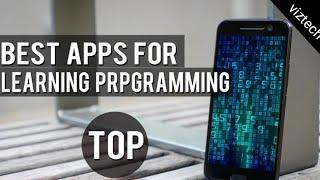 Top 10 best programming apps for computer science student  best programming app in Android phone.