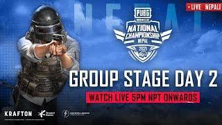 [NEPALI] PMNC 2021 - Nepal | Group Stage - Day 2 | PUBG MOBILE National Championship