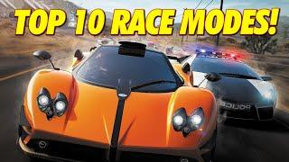 TOP 10 NEED FOR SPEED RACE MODES